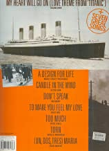 My heart will go on: (love theme from Titanic) + seven great songs : complete, piano, voice and guitar arrangements of eight classic songs, including lyrics and guitar chord boxes