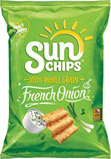 SunChips French Onion Flavored Multigrain Snacks, 7 Ounce