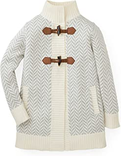 Girls' Sweater Coat with Toggles
