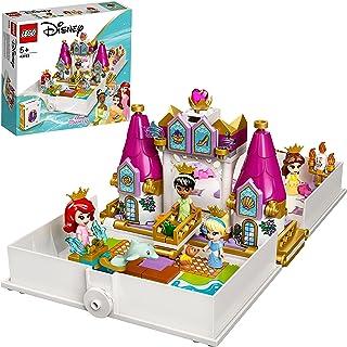 LEGO Disney Princess 43193 Ariel, Belle, Cinderella and Tiana's Sto (130 Pieces)