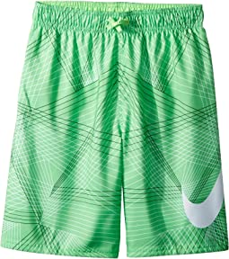 "Nike Kids Flywire Line Swoosh Breaker 8"" Trunks (Big Kids)"