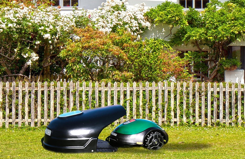 Idea Mower Garage ROBinBOX Garage Robomow RX12 RX20 (Negro)