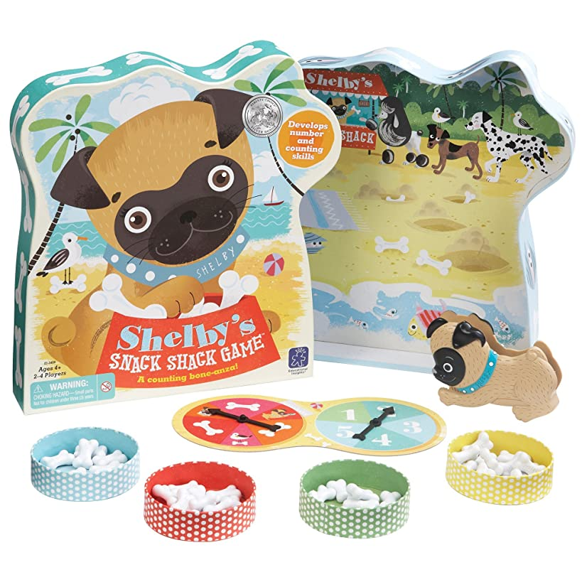 Educational Insights Shelby's Snack Shack Counting, Multicolor