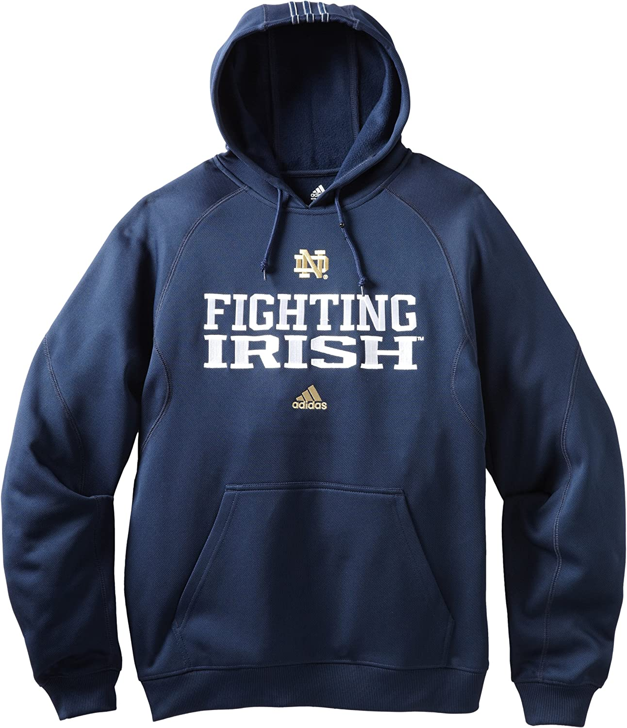 NCAA Notre Dame Fighting Excellence Irish Men's Warm-Up Swagger Ja Over item handling Sideline