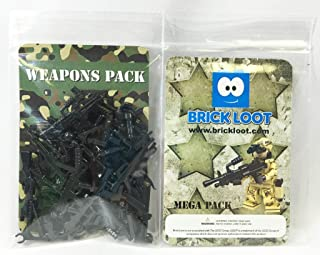 MEGA Pack 86 Weapons - Designed for LEGO and other Minifigures
