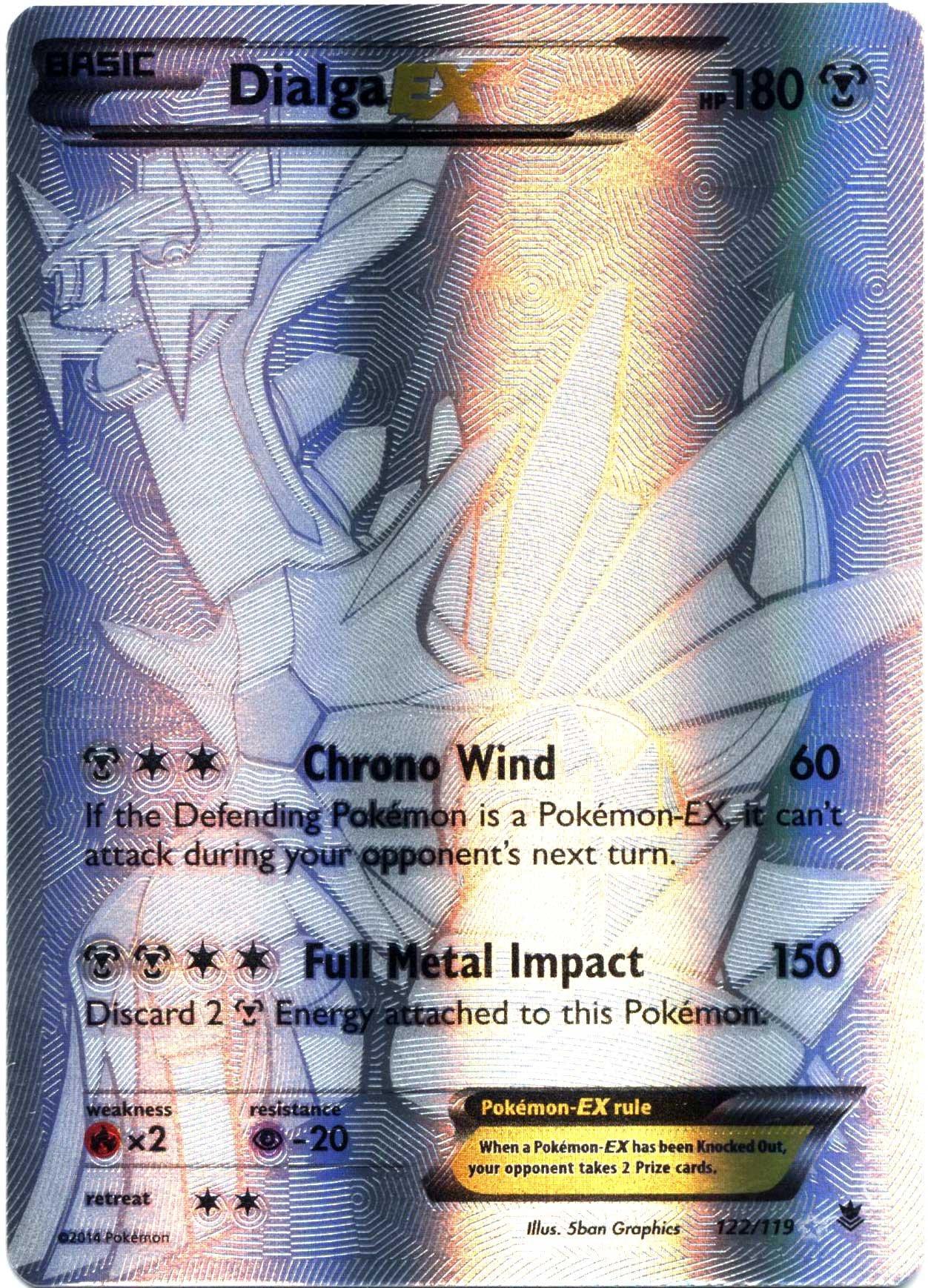 Pokemon - Dialga-EX (122/119) - XY Phantom Forces - Holo