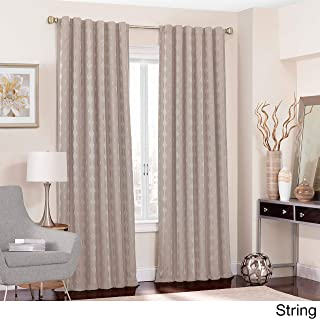 Eclipse Adalyn Thermalayer Blackout Window Curtain Panel String 52x108 108 Inches