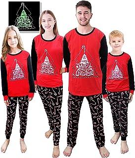 Sponsored Ad - Matching Family Pajamas Xmas PJS Set Boys Girls Sleepwear Dad Mom 100% Cotton Pyjama Christmas Clothes