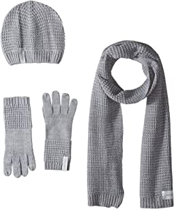 ee1a5f7d2018 Calvin klein thermal stitch hat and scarf set