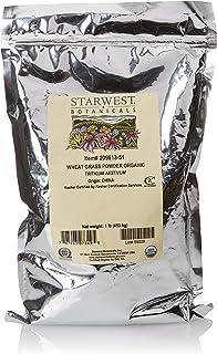 Starwest Botanicals Organic Wheatgrass Powder, 1 Pound