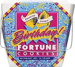 giant happy birthday fortune cookie