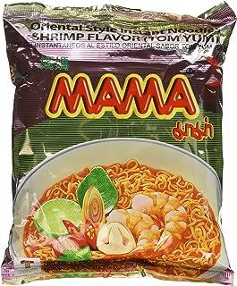 MAMA Instant Ramen Noodle, Tom Yum Shrimp Flavour (Pack of 30)