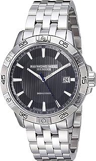 Raymond Weil - Reloj Analógico para Hombre de Cuarzo con Correa en Acero Inoxidable 8160-ST2-60001