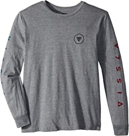 VISSLA Kids - Swellbow Long Sleeve T-Shirt (Big Kids)