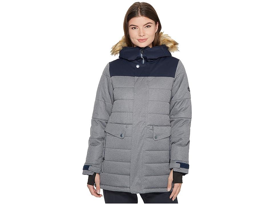 Image of 686 Runway Insulated Jacket (Charcoal Interlock) Women's Coat
