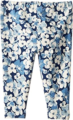Floral Stretch Jersey Leggings (Infant)