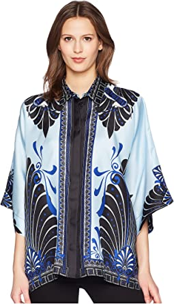 Camicia Donna Tessuto Three-quarter Sleeve Shirt