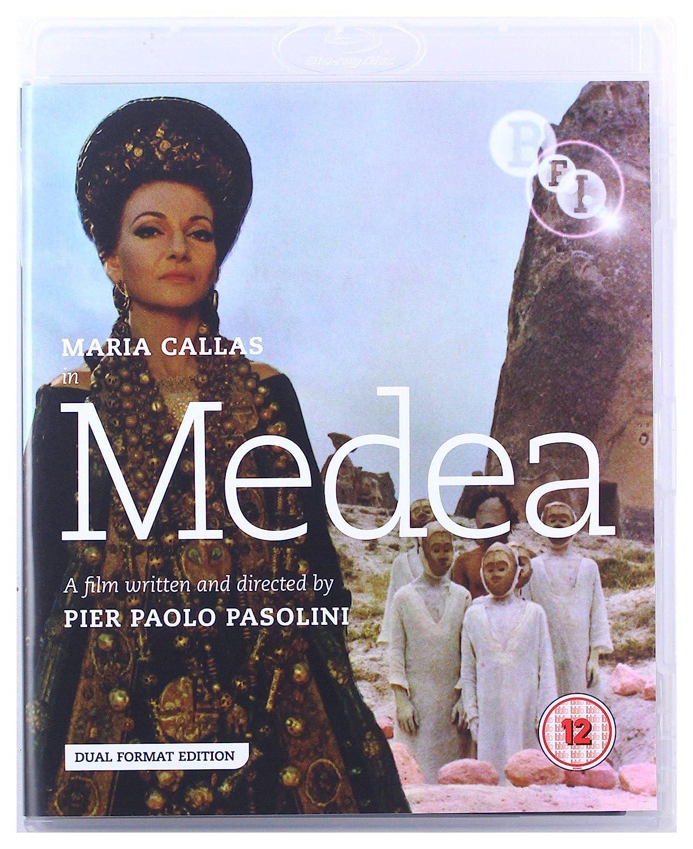 Medea DVD + Blu ray [UK Import] Amazon.de Maria Callas, Pier ...