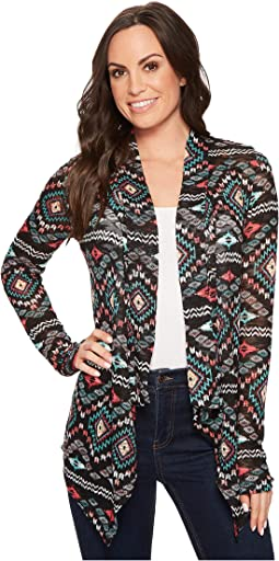 Rock and Roll Cowgirl - Long Sleeve Cardigan 46-4741