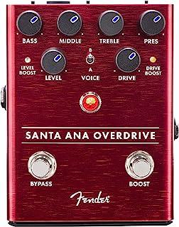 Fender エフェクター Santa Ana Overdrive Pedal(電池付属なし)