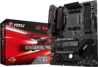 MSI Gaming AMD Ryzen X370 DDR4 VR Ready HDMI USB 3 SLI CFX ATX Motherboard (X370 GAMING PRO)