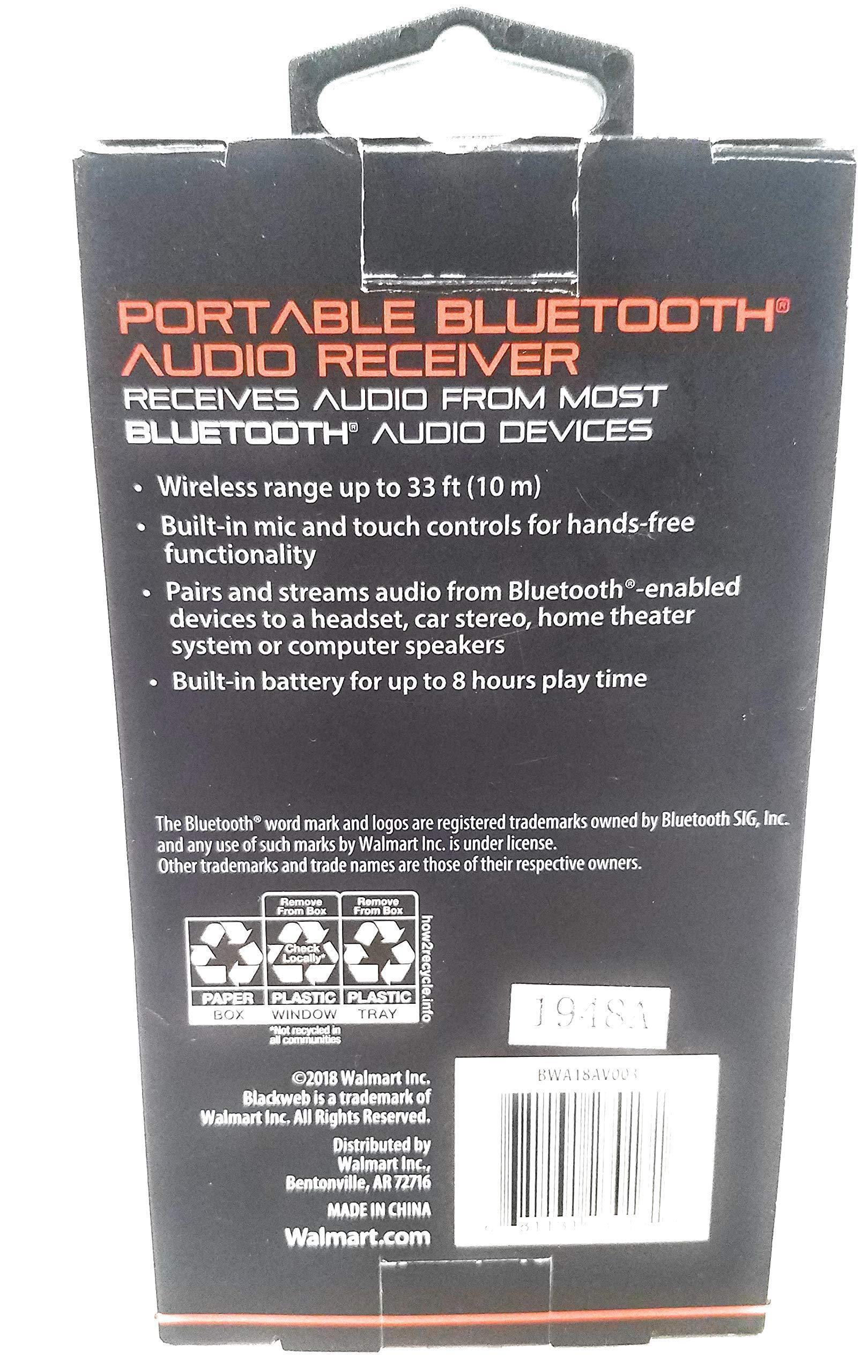 Amazon Com Blackweb Portable Bluetooth Audio Receiver Electronics