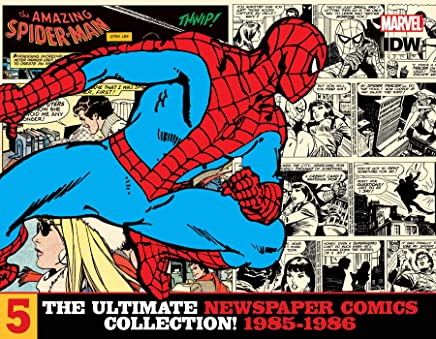 Amazing Spider-Man Ultimate Newspaper Comics Vol 5 1985-1986