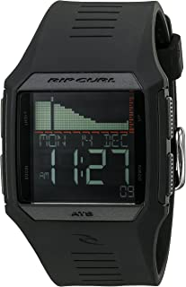 Rip Curl Men's A1119-MID Rifles Tide Digital Display Quartz Black Watch