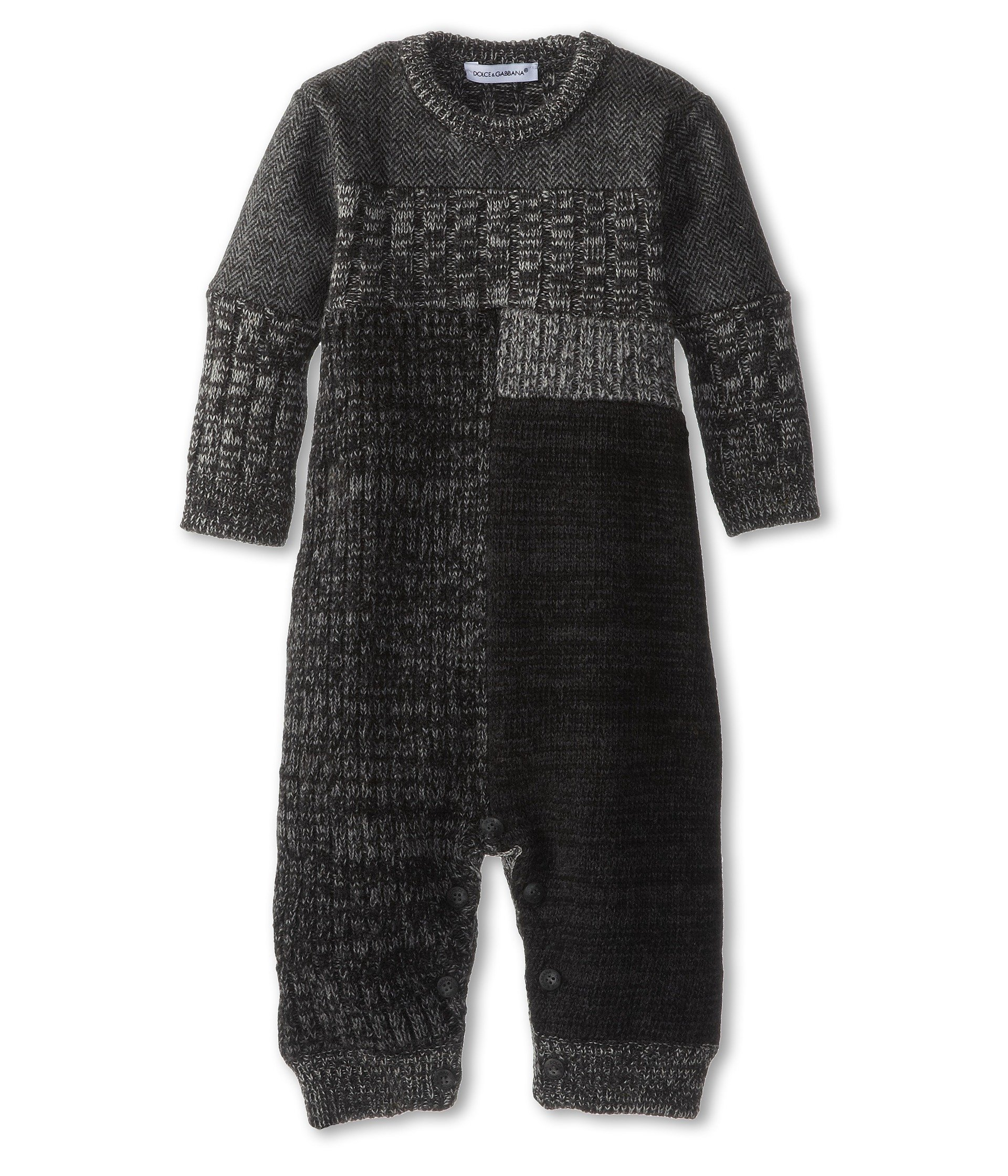 Enterizo para Bebe Dolce and Gabbana Kids Colorblock Long Sleeve Wool Track Suit (Infant)  + Dolce & Gabbana en VeoyCompro.net