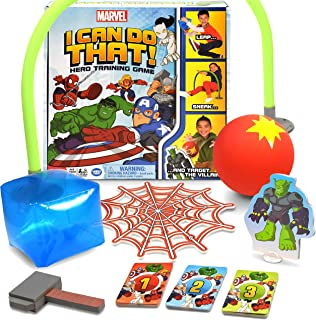 Wonder Forge Marvel I Can Do That! Family Game for Boys & Girls Age 4 & Up - A Hero Training Game