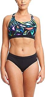 Zoggs Womens Blast Muscle Swimming Swim Pool Holiday Swimsuit Costume - Multi