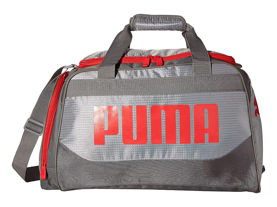 PUMA Evercat Transformation 3.0 Duffel (Grey Red) Duffel Bags 8ea200013ae34
