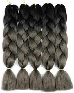 Braiding Hair Synthetic Hair Extensions Kanekalon Fiber for Ombre Twist Braids Hair High Temperature (c16)