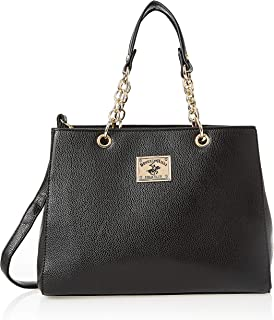Beverly Hills Polo Club Handbag for Women-Black