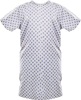 Utopia Care Hospital Gown - Patient Gowns Fits All Sizes up to 2XL - Back Tie
