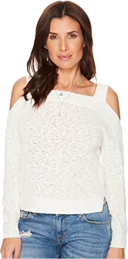 Lucky Brand - Cold Shoulder Sweater