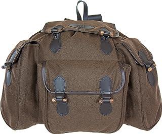 Mochila de caza y senderismo de algodón, 60 cm, marrón (Marrón) - 550005