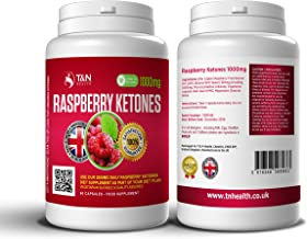 Raspberry Ketones Diet Pills – Professional Strength 100 Pure Potent Fat Burning Supplements – Boost Your Metabolism and Suppress Your Appetite – Contains 60 Capsules of 1000mg Maximum Strength Estimated Price : £ 14,99