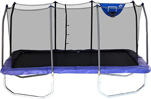 Skywalker Rectangle Jump-N-Dunk Trampoline - The Best Rectangle Trampoline