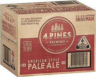 4 PINES Pale Ale Beer Case 12 x 500mL Bottles