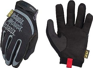 Mechanix Wear - Guantes de Utilidad (Grande, Negro
