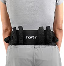 Transfer Belt with Handles by TKWC INC - #2305 - Lift Gait Belt with Quick Release Locking Buckle Safety Gate Belt 55