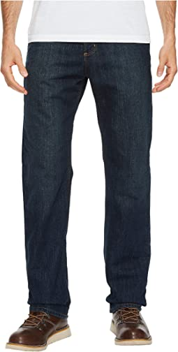 Relaxed Fit Fleece Lined Holter Jeans