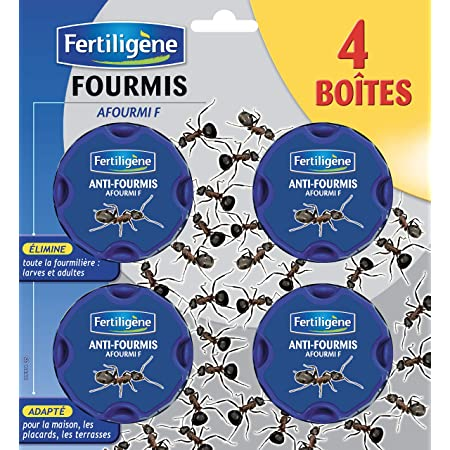 Fertiligène KB Anti Fourmis Boites Appat, x4