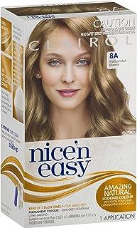 Clairol Nice'n Easy Permanant Hair Colour, 8a Medium Ash Blonde, 1 count