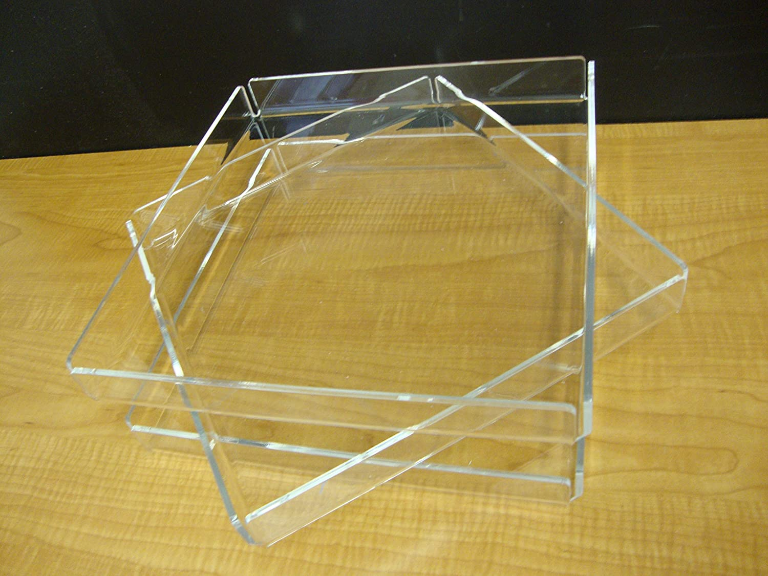 35% OFF 305Displays 3 CLEAR Acrylic Brand new trays Bakery Pastry Donut Bage bread