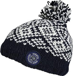 Regatta Jesper Boys Warm Lined Winter Ski Beanie Hat RKC056