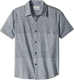 Billabong Kids - Faderade Short Sleeve Woven Top (Big Kids)