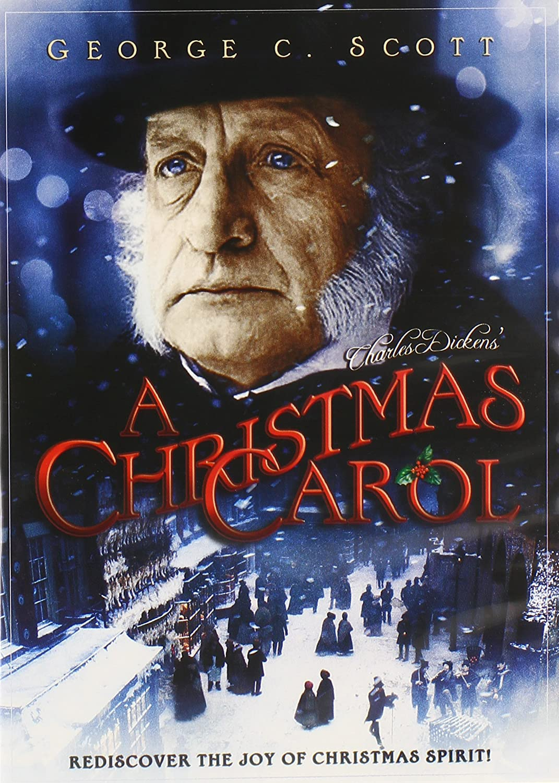 A Christmas Carol DVD.