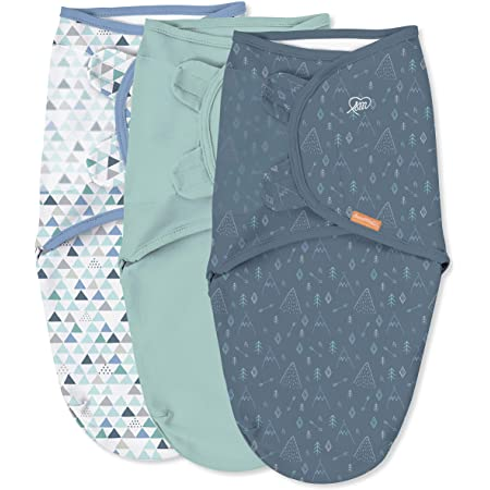 SwaddleMe Original Swaddle - Size Large, 3-6 Months, 3-Pack (Mountaineer)